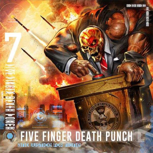 треклист нового альбома Five Finger Death Punch - And Justice For None  Дата выхода: 18 мая 2018 года.