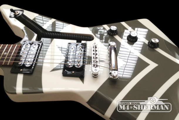 Gibson Explorer JASON HOOK M4 Sherman